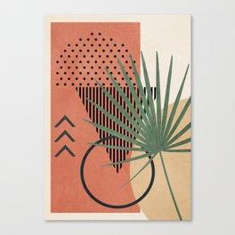 Nature Geometry II Canvas Print