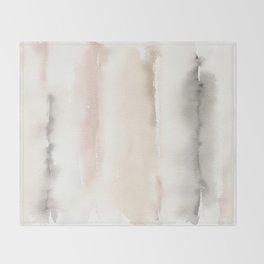 Origin Neutral Watercolor Wash Throw Blanket