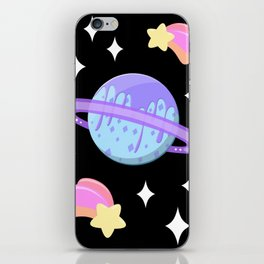 Melty Minty Planet iPhone Skin