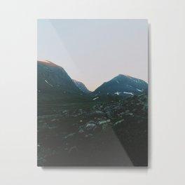 Northern Lappland Metal Print