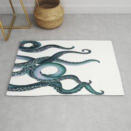 Kraken Teal Rug