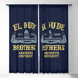 The Peep Show - El Dude Brothers Blackout Curtain