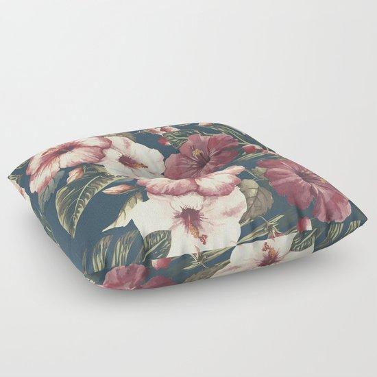 Flower pattern A Floor Pillow