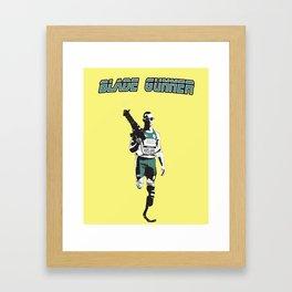 Blade Gunner Framed Art Print