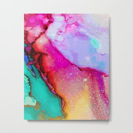 Abstract colorful pattern V1 #society6 Metal Print