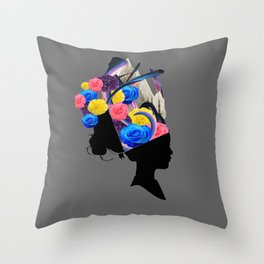 CONCUSSION Throw Pillow