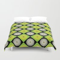 90s Duvet Covers featuring 90s Daisy Argyle by Paget Fink