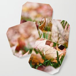 Fallen Leaves Coaster