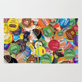 KCup Collage Rug