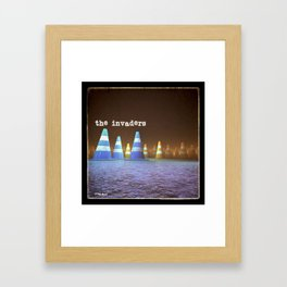 Gang of Cones  - The Invaders Framed Art Print