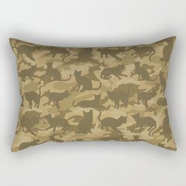 Operation Desert Cat Rectangular Pillow