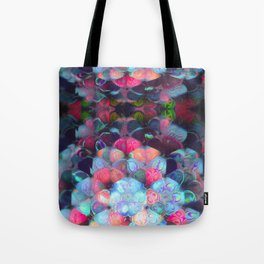 Graphic Atoms Tote Bag