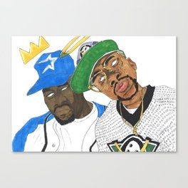UGK4Life Canvas Print