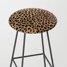 Cheetah Print Bar Stool