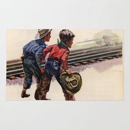 Vintage poster - Super Chief Rug