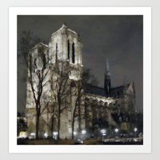 Beautiful at night or day Art Print