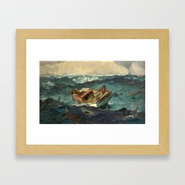 The Gulf Stream by Winslow Homer, 1899 Framed Art Print