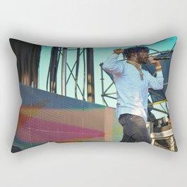 Lil Uzi Vert Live Rectangular Pillow