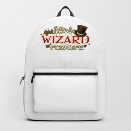 Wizard Lover I'm a Wizard for Life Backpack