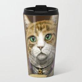 Bard Cat Travel Mug