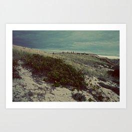 Nautica: Leaving the Dune Art Print