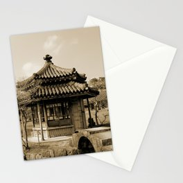 Japanese pavillion Stationery Cards
