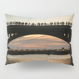 People at sunset Pillow Sham