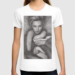 the snake girl T-shirt