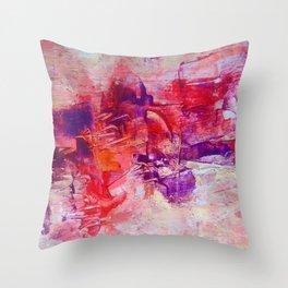 Violet ballet Throw Pillow