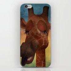 Sleeping Giraffe  iPhone Skin