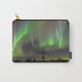 Ghostly Northern Lights Carry-All Pouch