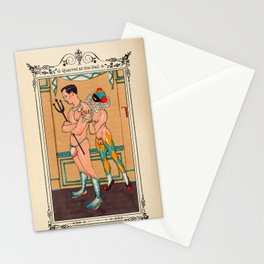 Quarrel At The Ball Stationery Cards