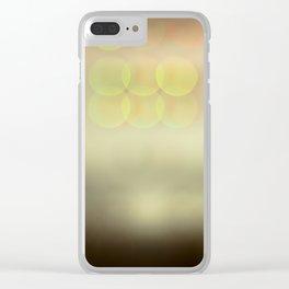 Bokeh Clear iPhone Case