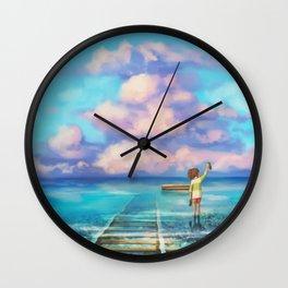 Sen Departure Wall Clock