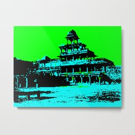 Futtehpore Sikri - The Panch-Mahal or 5 Palaces Metal Print