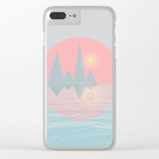 Spring Landscape III Clear iPhone Case