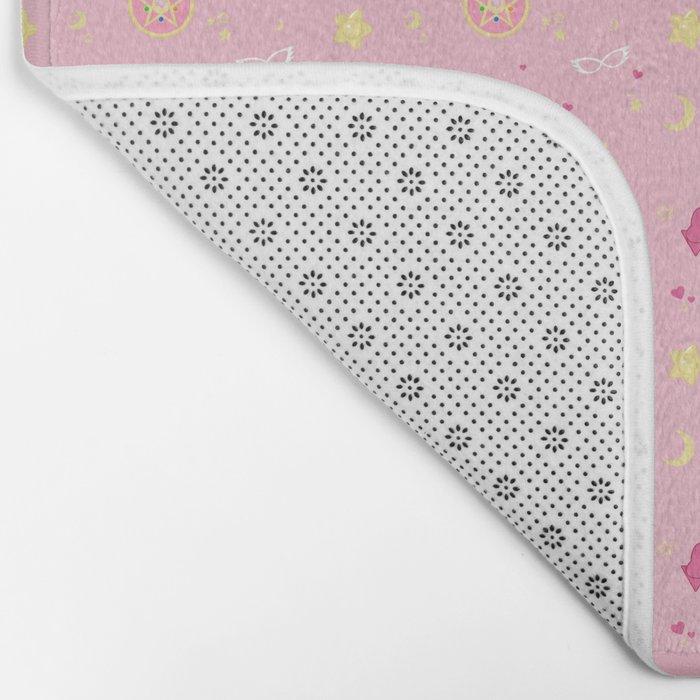 Sailor Moon Pattern Bath Mat