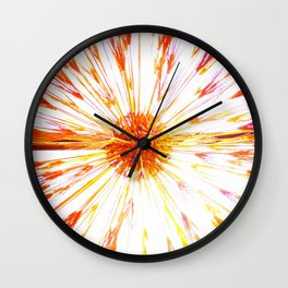 Fire Burst Wall Clock