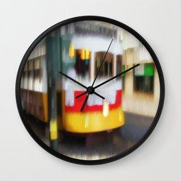 Tram Prazeres Lisbon Wall Clock