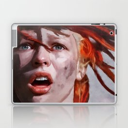 Leeloo Played By Milla Jovovich - The Fifth Element Laptop & iPad Skin