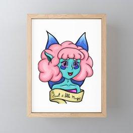 Just a little magic Framed Mini Art Print