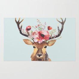 Bohemian Deer 2 Rug