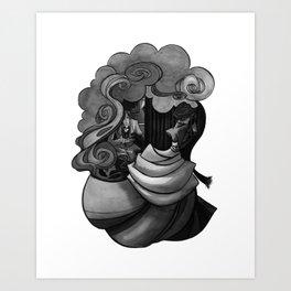 A Woman's Heart (The Plan) Art Print