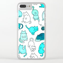 Kitties Clear iPhone Case