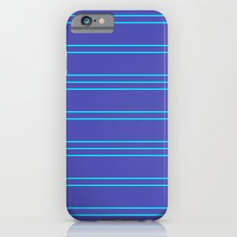 Simple Lines Pattern pt iPhone Case