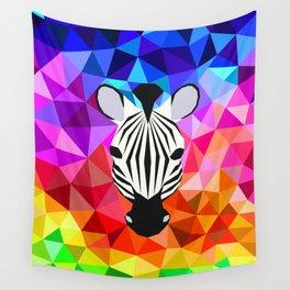 Zebra Dazzle Wall Tapestry