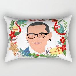 Chester Bennington Ugly Xmas Sweater Rectangular Pillow