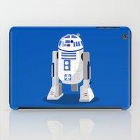 r2d2 iPad Cases featuring R2D2 by Karen Mercado