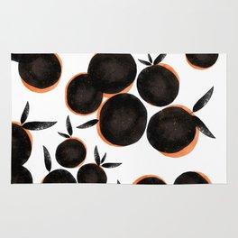 Black is the new Orange Rug
