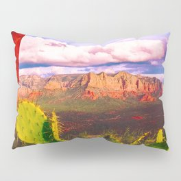Cacti with a View (Cathedral Rock) Pillow Sham
